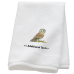 Personalised Barn Owl Custom Embroidered Terry Cotton Towel