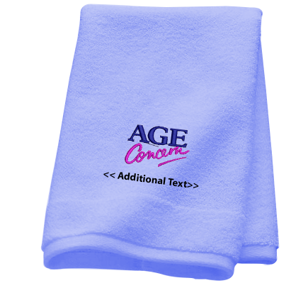 Personalised Age Concern Personalised Towels Terry Cotton Towel