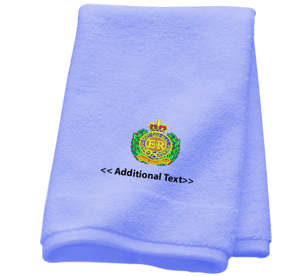 Personalised Royal Engineers Military Towels Terry Cotton Towel