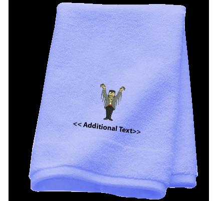 Personalised Dracula Seasonal Towels Terry Cotton Towel