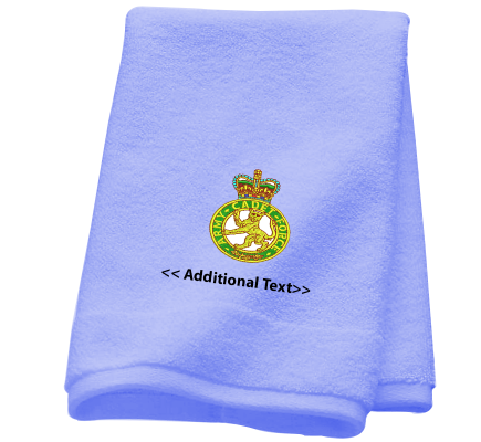 Personalised Army Cadet Force Military Towels  Terry Cotton Towel