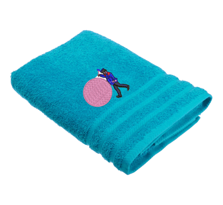 Personalised Marching Band Drummer Hobby Towels Terry Cotton Towel