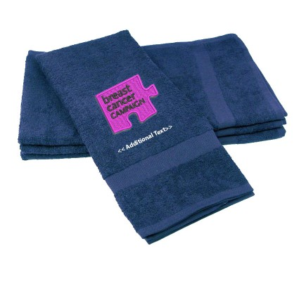 Personalised Breast Cancer Campaign Personalised Towels Terry Cotton Towel