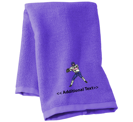 Personalised American Football Sports Towels Terry Cotton Towel