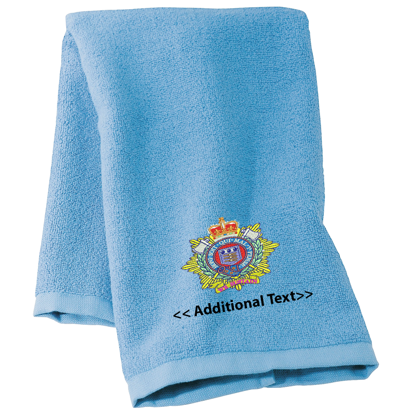 Personalised Royal Logistics Corps Military Towels Terry