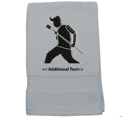 Personalised Singer Hobby Towels Terry Cotton Towel