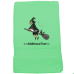 Personalised Witch Seasonal Towels Terry Cotton Towel