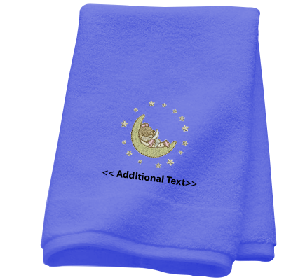 Personalised Angel Baby Gift Towels Terry Cotton Towel