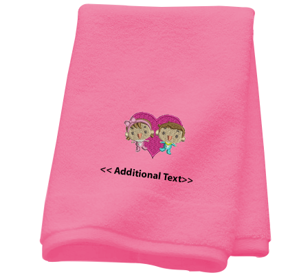 Personalised Babies Gift Towels Terry Cotton Towel