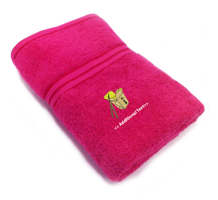 Personalised Chinese Food  Gift Towels Terry Cotton Towel