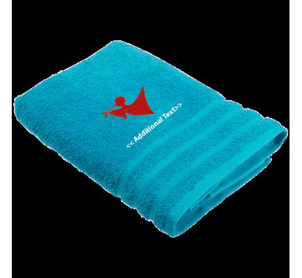 Personalised Angel Seasonal Towels Terry Cotton Towel