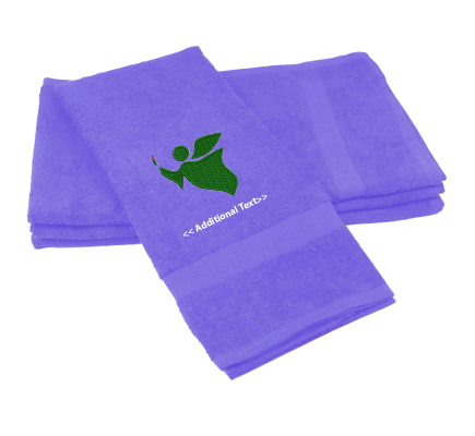 Personalised Angel Seasonal Towels Terry Cotton Towel