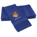 Personalised Wedding Bells Custom Embroidered Terry Cotton Towel