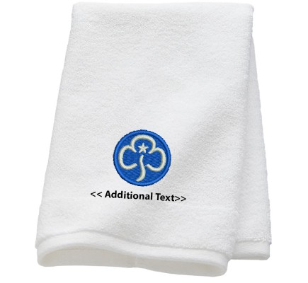 Personalised Girl Guides Personalised Towels Terry Cotton Towel