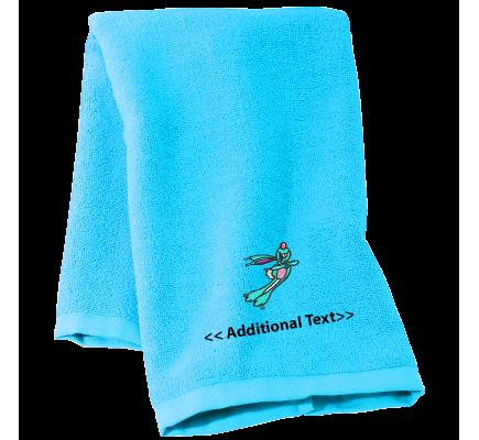 Personalised Rabbit  Seasonal Towels Terry Cotton Towel