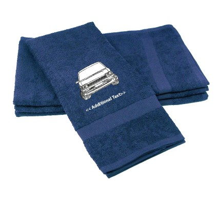 Personalised Car Gift Towels Terry Cotton Towel