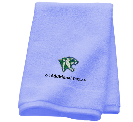 Personalised Cougar Head Sports Towels Terry Cotton Towel
