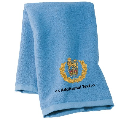 Personalised Army Female Boxing Military Towels  Terry Cotton Towel