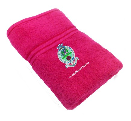 Personalised Princess of Wales Military Towels Terry Cotton Towel