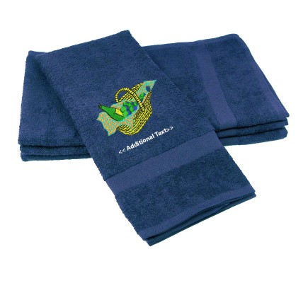 Personalised Picnic Basket Gift Towels Terry Cotton Towel